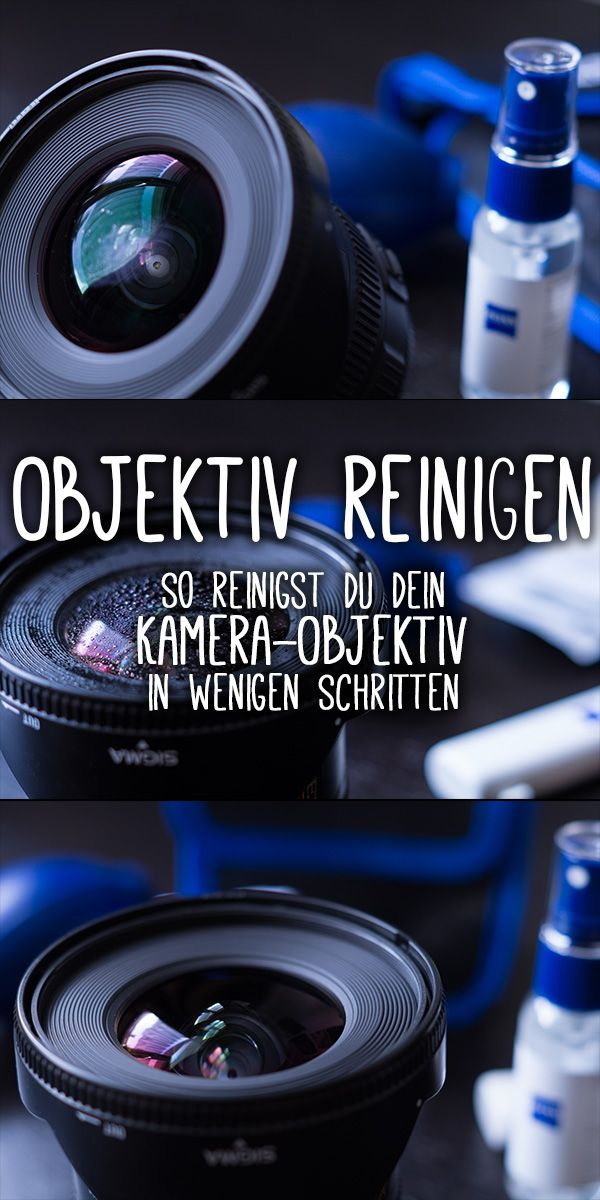 Objektiv reinigen - Viele machen es, viele haben es nötig. Doch wie reinigt man sein Kamera-Objektiv am besten? Hier wird gezeigt, wie man seine Linse in wenigen Schritten und super einfach wieder sauber macht und richtig zum glänzen bringt - für perfekte Fotos!