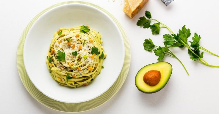 Replace cream with silky California Avocados for a fettuccine alfredo that's pleasantly light and undeniably tasty.