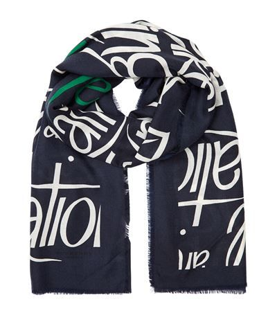 Burberry Typographic Print Cashmere Scarf available to buy at Harrods. Shop Accessories online & earn reward points. Luxury shopping, Free UK Returns.
