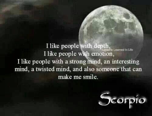Scorpio....