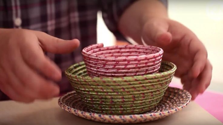 Kaum ist diese Seil-Schale fertig, reißen die Leute sie dir aus der Hand. Und zwar zu Recht!