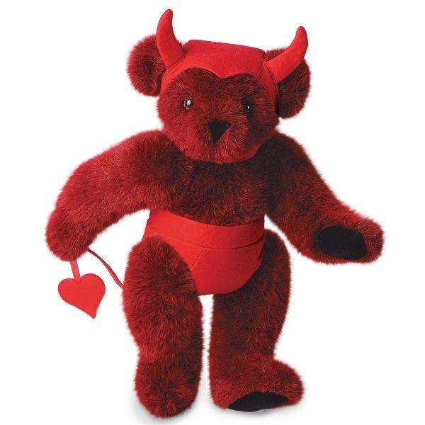 "15"" Horny Devil from Vermont Teddy Bear. $59.99 #ValentinesDay #Gift #TeddyBearVermont Bears, Gift Teddybear, Valentine Day Gift, Teddy Bears, Bears Company, Bears Bearyl V, Bears Essential, Vermont Teddy, Cuddley Bears"