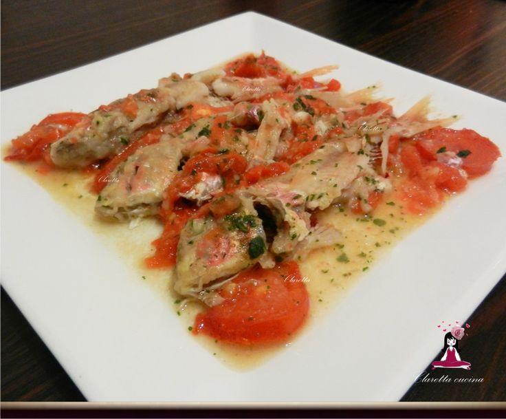 Triglie alla livornese, Secondo piatto di pesce, 323.0