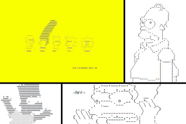One Line Ascii Art Joint : Best ascii art ideas on pinterest line