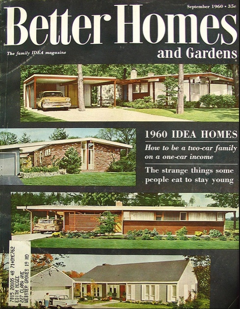 Idea Homes For 1960 Vintage Everything Old Is