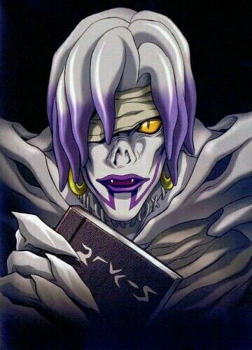 Rem (not my fav Shinigami but still cool... Oh wait... She killed L..... DIE REM DIE) #DeathNote