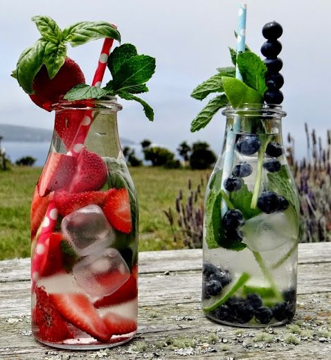 ...a quiet life...: Refreshing and beautiful infused water!