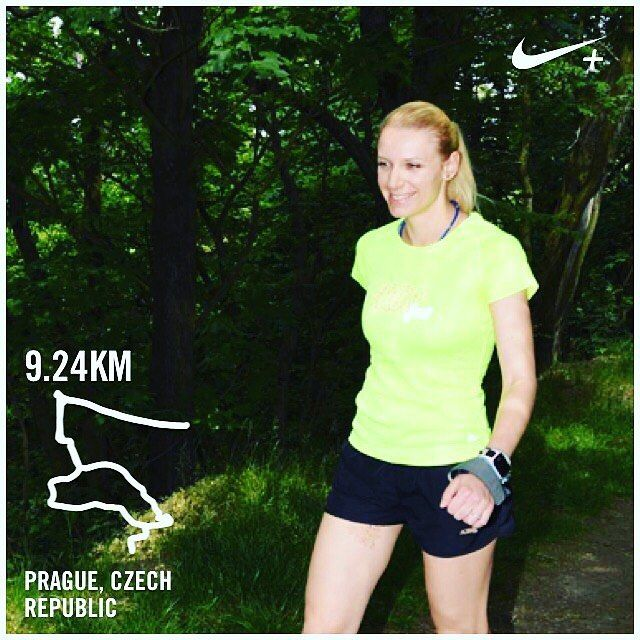 Intervalový trénink a nový osobák 3:58min/km #osobak #behani #intervaly // Interval training and a new PR 3:58mins per kilometer #PR #running #intervals #runhappy by runi.to_blondies