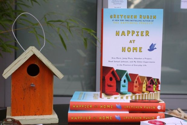 Gretchen Rubin's Happier at Home Book Launch Party