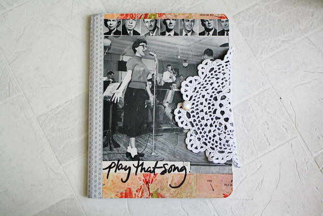 Play That Song Front Cover: Prject Life, Photos Journals, Minis Albums