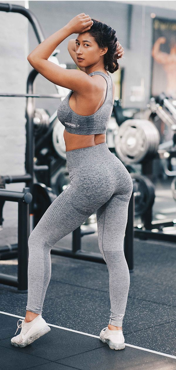 1d9fdeee7676c9 Gymshark Ombre Seamless Leggings - Black/Light Grey | PICTURES | Workout  attire, Boot Camp Workout, Bodybuilding workouts