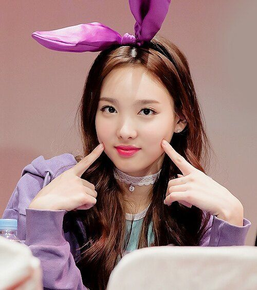 Bunny nayeon #Nayeon #Twice #Fansigning #Once #Kpop