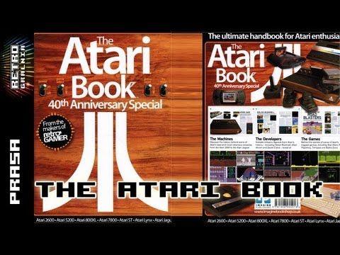 ▶ The Atari Book - Retrogamer - Wszystko o Atari - Retrogralnia - Retrogaming - YouTube