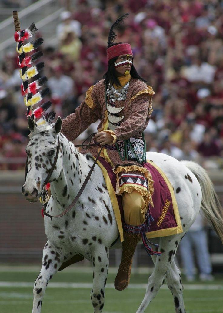 Florida State University mascot #seminoles