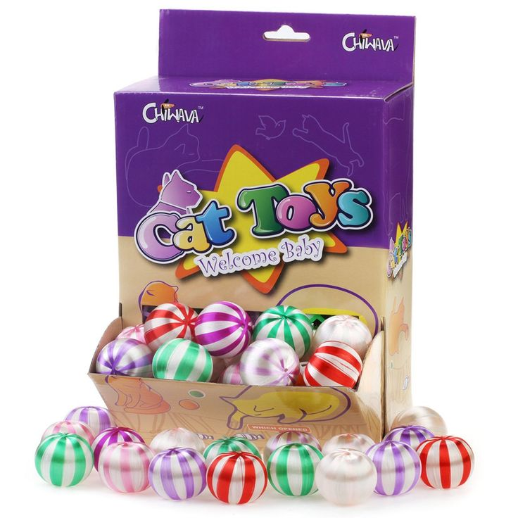 Chiwawa 1.6'' Cat Balls Silky Satin Cat Toy Ball Funny Kitten Interactive Toy Catch Play Assorted Color *** Find out more about the great product at the image link. (This is an affiliate link and I receive a commission for the sales)