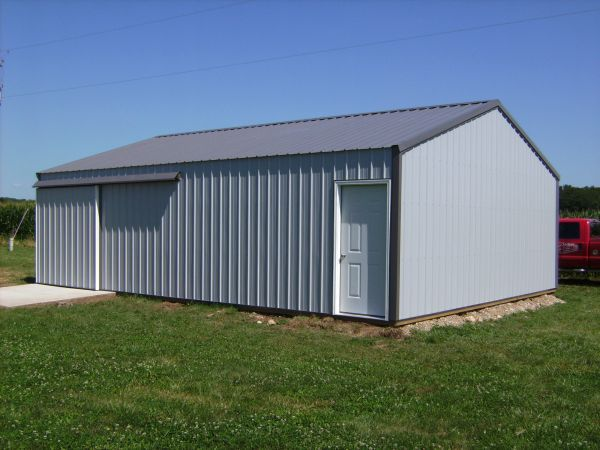 Pin 40x60 pole barn on pinterest for 40x60 pole building