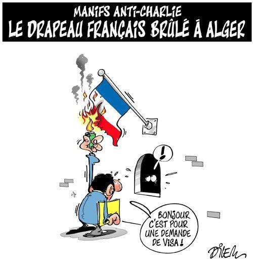 Caricature dilem du 18 janvier 2015 : Toute l'actualité sur liberte-algerie.com