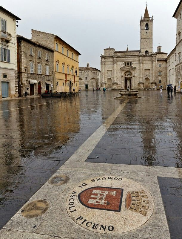 Ascoli Piceno, Marche - Just like the day we were there with Dina and Liana!