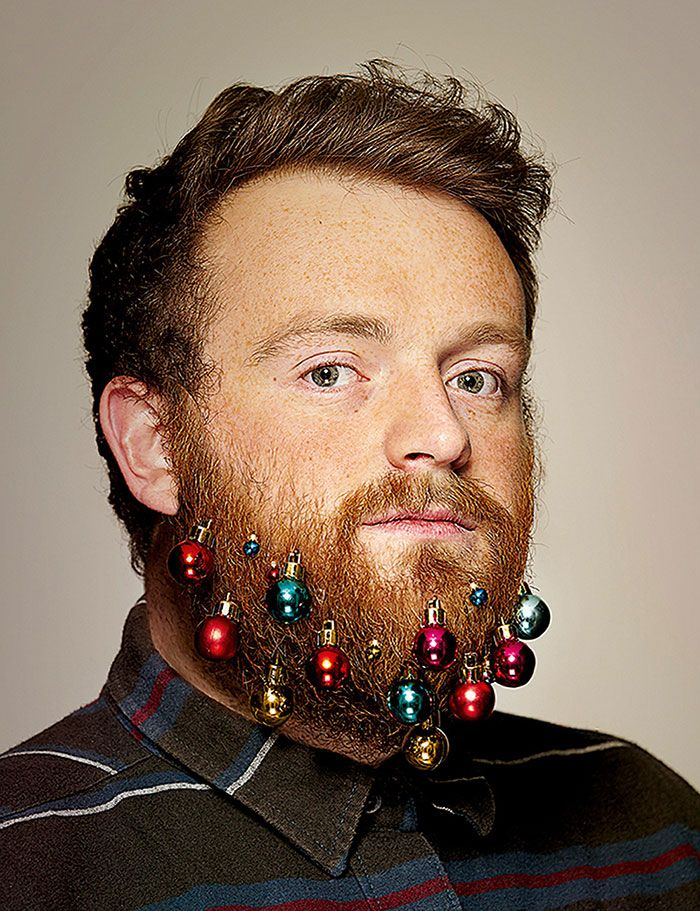 This holiday season, these bizarre Beard Baubles will do the trick – these clip-on Christmas decorations will turn men's faces into glittering festive centerpieces!