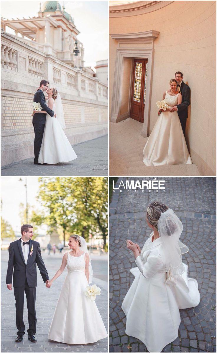 Magami esküvői ruha - Pronovias kollekció - Orsolya menyasszonyunk http://lamariee.hu/eskuvoi-ruha/pronovias/magami