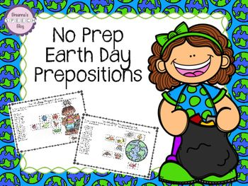 Looking for a fun no prep activity that targets following 1-step directions and prepositions? This Earth Day activity targets just that.This is a simple, no prep, black and white packet. Simply print the worksheets desired, provide the student with crayons, scissors, and glue, and you're all set for a fun therapy session!Targets the following goals: Following 1-step directions Prepositions (above, beside, below, next to) Fine motor goals - coloring/cutting/gluingPictures are included for…