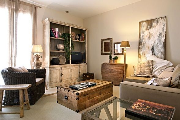 Vicky's Home: Rustico Chic
