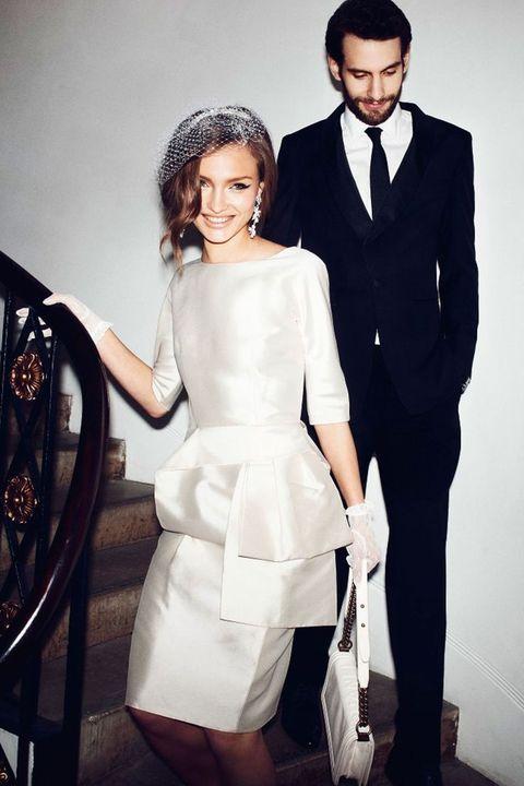 41 Elegant City Hall Bridal Outfits   HappyWedd.com