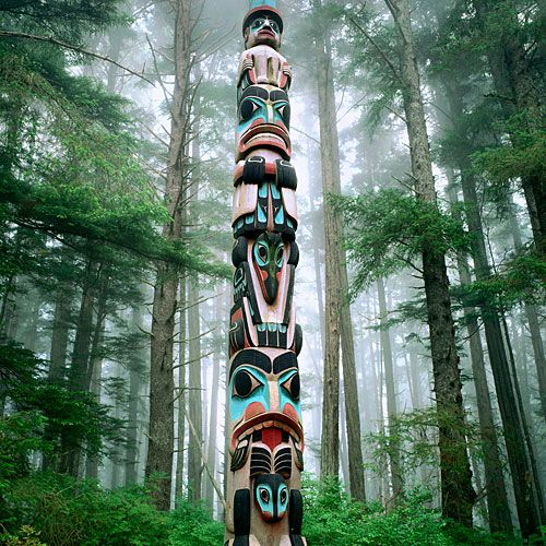 One of my favorite totem poles in Totem Park! Oh the childhood memories of growing up in Sitka! Home sweet home.