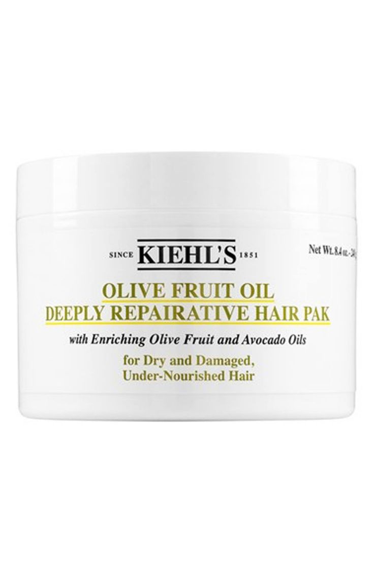 Main Image - Kiehl's Since 1851 Olive Fruit Oil Repairing Hair Masque