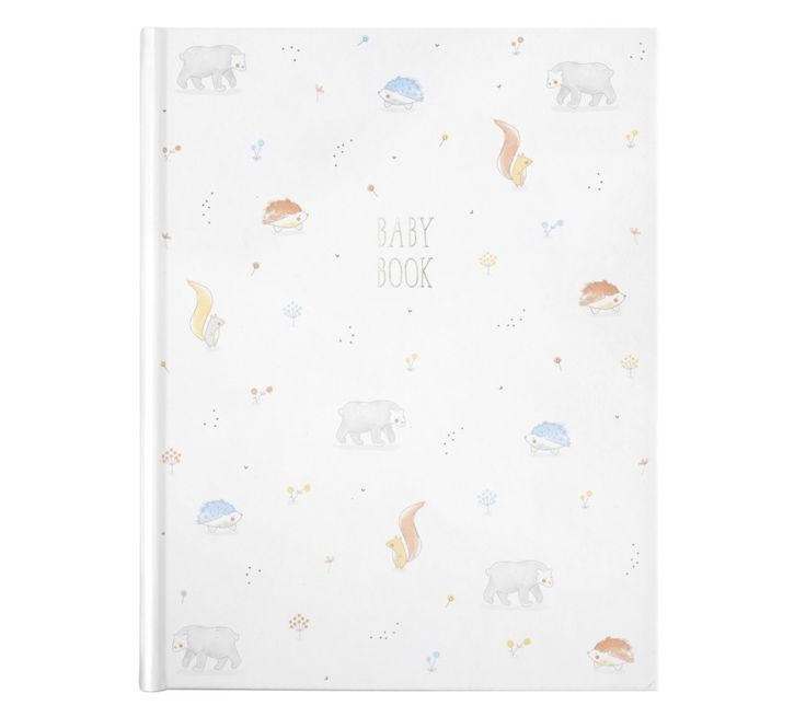 Presented in a beautiful hard cover keepsake box, this Baby Book is perfect for collecting memories of your new born.