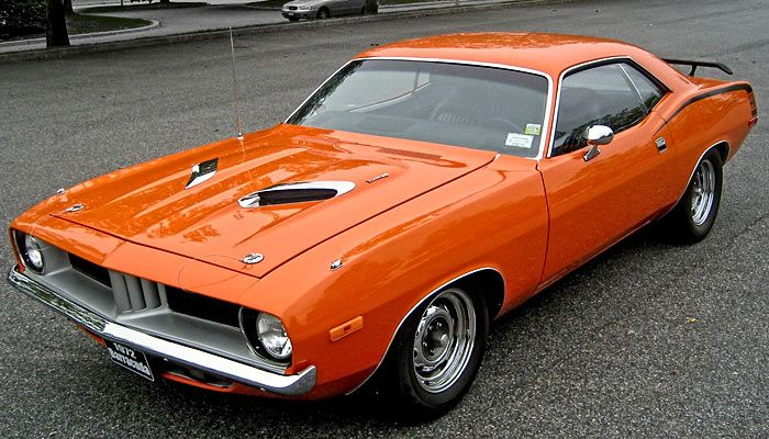 72 Plymouth Barracuda High C Orange Click to Find out more - http://fastmusclecar.com/best-muscle-cars/72-plymouth-barracuda-high-c-orange/ COMMENT.