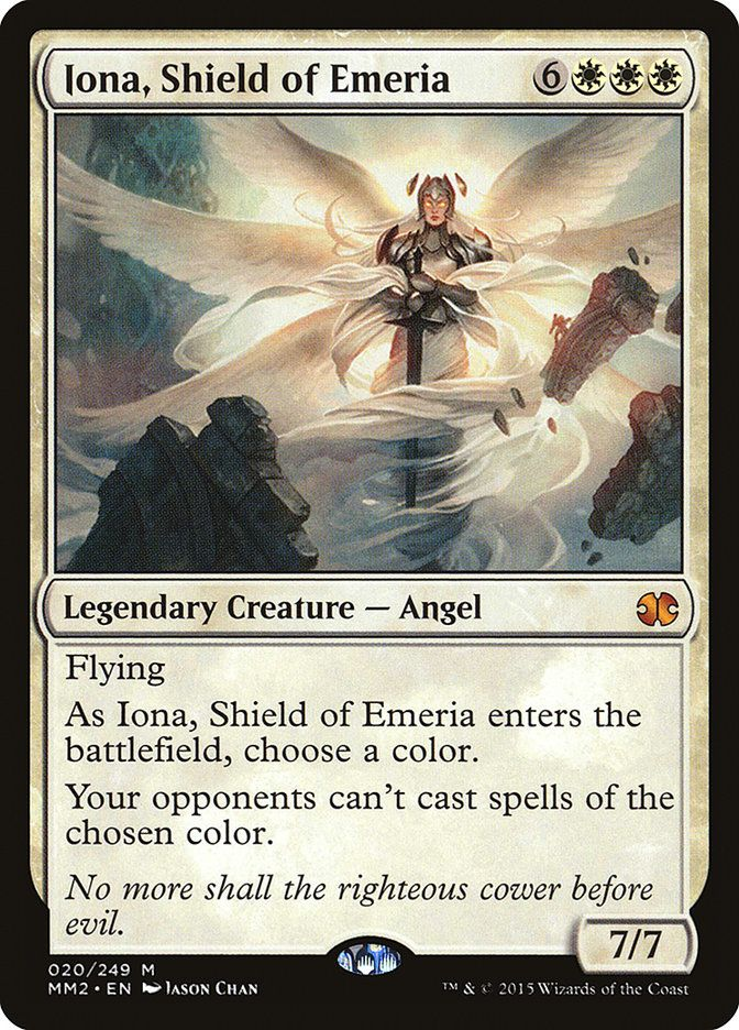 Iona Shield Of Emeria Modern Masters 2015 With Images Magic