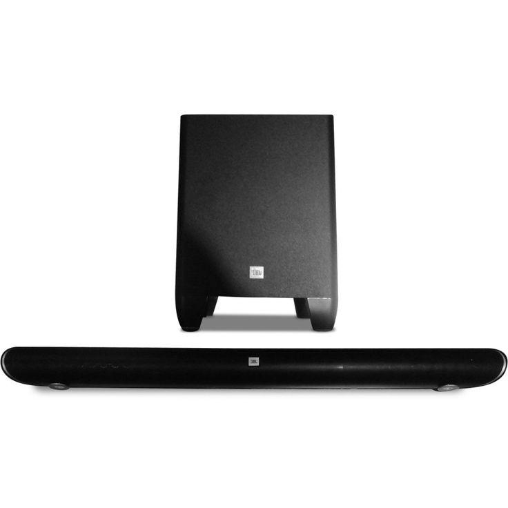 JBL Cinema SB350 Home Cinema 2.1 Soundbar with Wireless Subwoofer