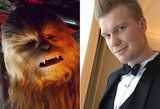 Behold: The Blue-Eyed Babe Behind the Chewbacca Mask in The Last Jedi