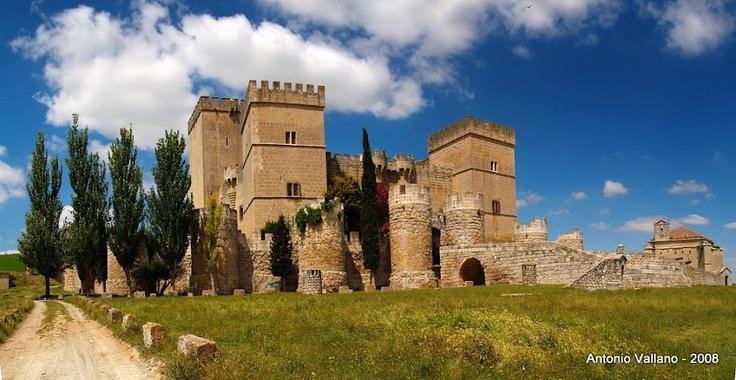 Spain - Castillo de Ampudia, Palencia