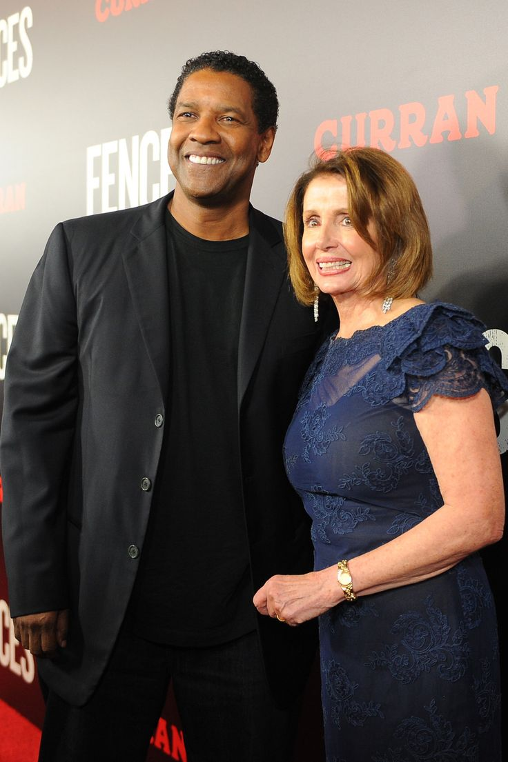 """Denzel Washington Talks Obama Presidency Fake News at San Francisco 'Fences' Premiere  The film's star director and producer joked about unsubstantiated reports that he was a Trump supporter (believe """"a tenth of what you read"""") at the event hosted by the city's former mayor Willie Brown and attended by House Minority Leader Nancy Pelosi.  read more"""