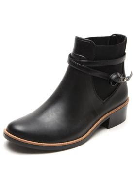 b46da33c7 Bota Chelsea Colcci Tiras Preto   w i s h   Shoes, Chelsea boots, Boots