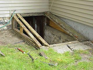How To Install A New Bilco Door To Replace An Old Basement Entry