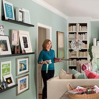 Memory WallWall Colors, Memories Wall, Dennings Ideas, Southern Living, Decor Ideas, House Ideas, Living Room, Gallery Wall, Art Wall