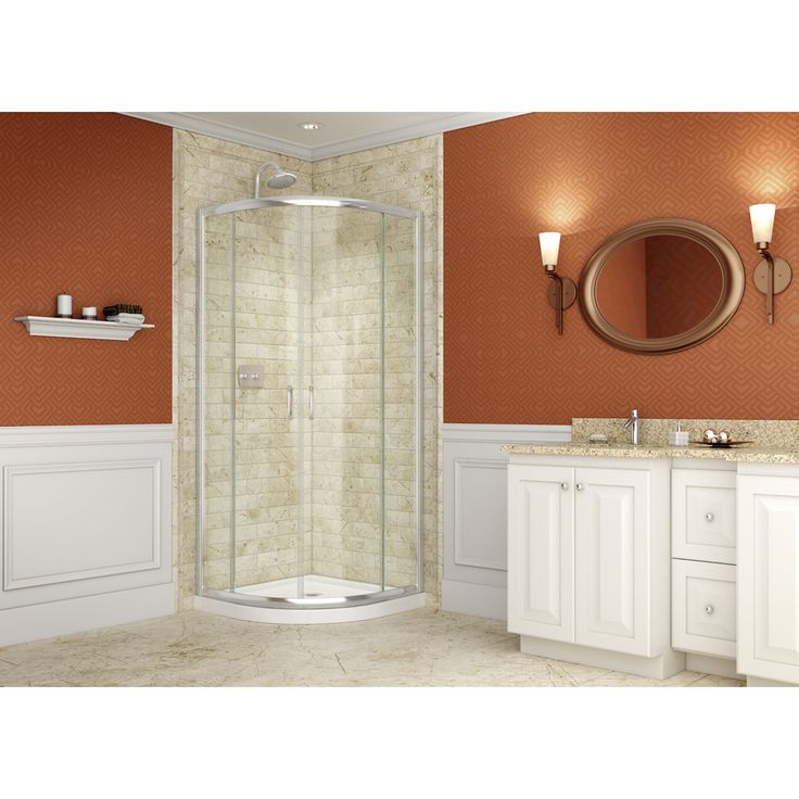 dreamline solo sliding shower enclosure and shower base overstock shopping great deals on dreamline shower kits - Dreamline Shower