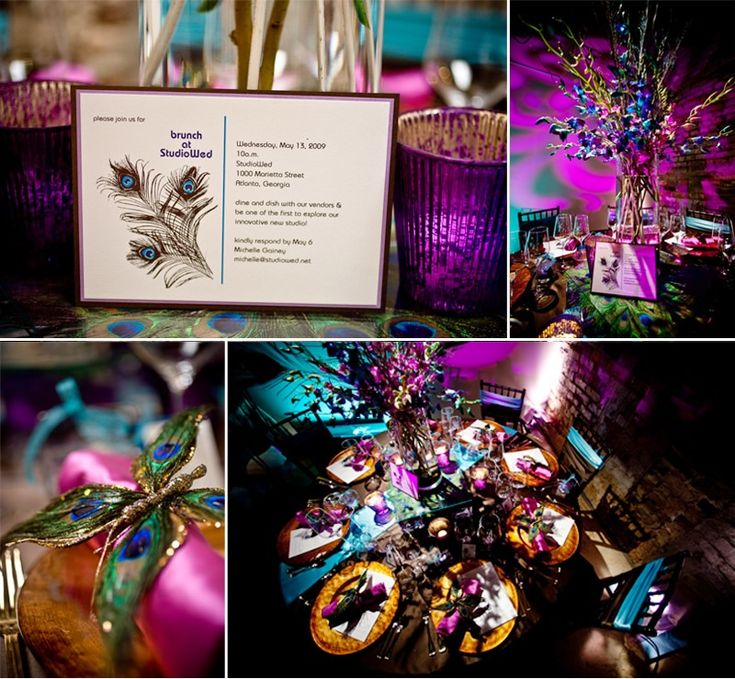 Best Ideas For Purple And Teal Wedding: 53 Best Images About Purple & Teal Wedding Ideas On