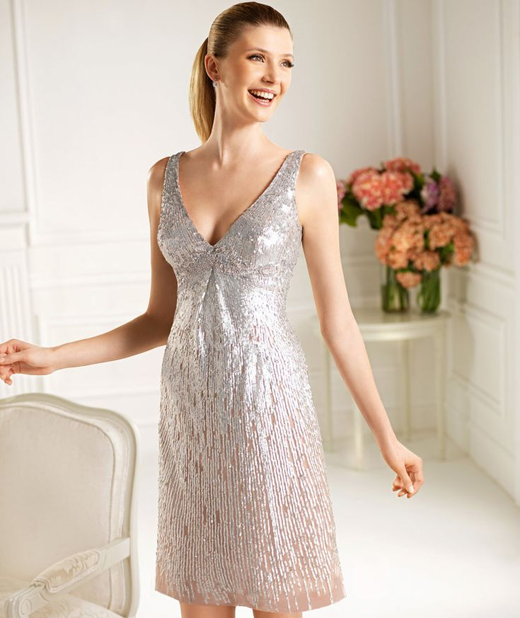Pronovias presents the Cadete cocktail dress from the 2013 Short Dress Collection. | Pronovias