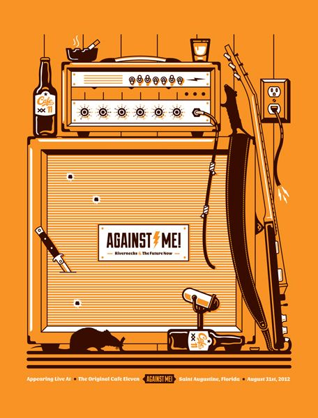 Against me, Graphic Design, creative, visual, inspiration