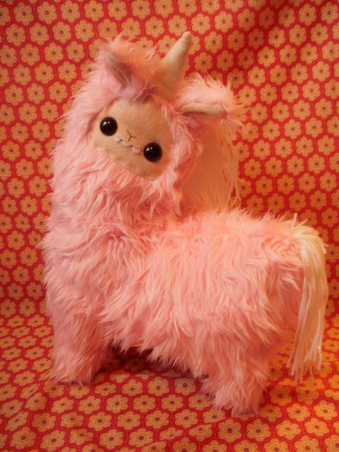Unicorn stuffed animal     I am llama, I am a llama, and a unicorn too!, I AM TWO IN ONE :P
