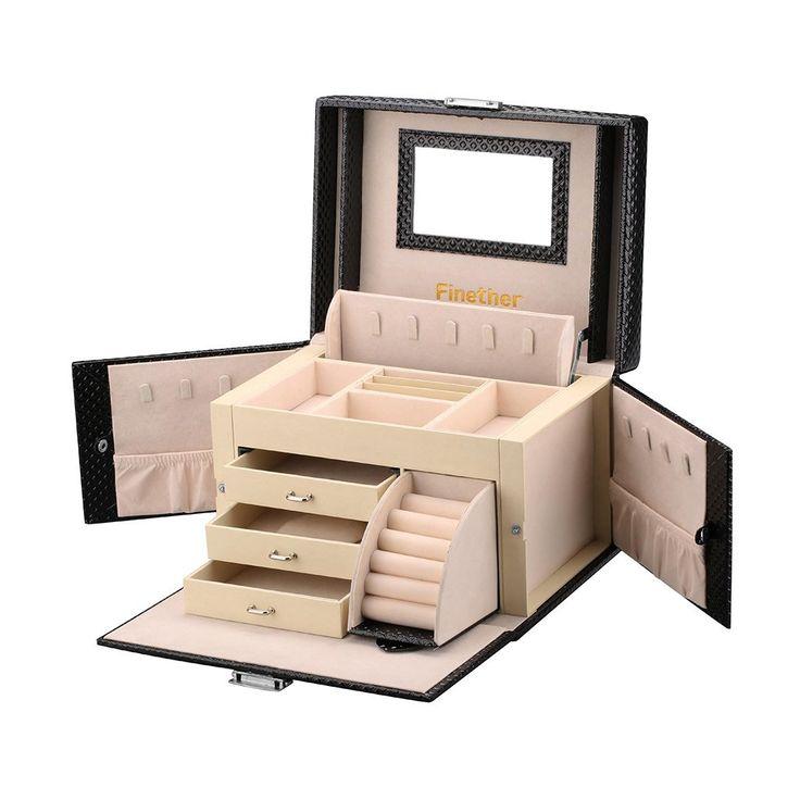 Las 25 mejores ideas sobre caja de joyas en pinterest - Caja joyero ikea ...