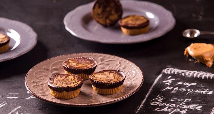 Γλύκισμα με σοκολάτα και φιστικοβούτυρο