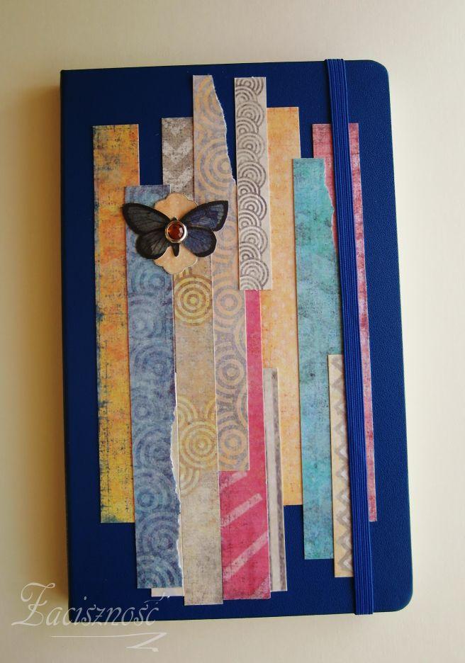 Notatnik z motylem/ Notebook with butterfly
