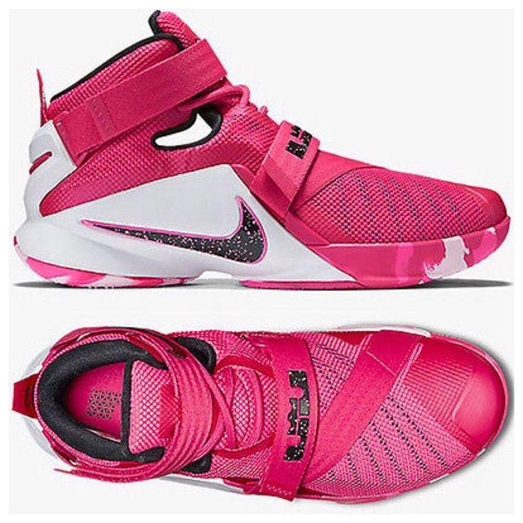 "New! Men Nike Lebron 9 IX ""Soldier"" Basketball KD Aunt Pearl Pink 749417-601  13    eBay"