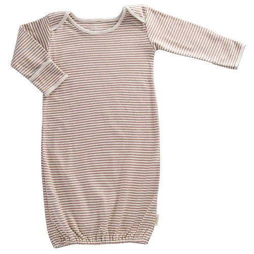 Tadpoles Organic Cotton Sleep Gown, Cocoa, 0-6 Months from Tadpoles - The Bump Baby Registry Catalog