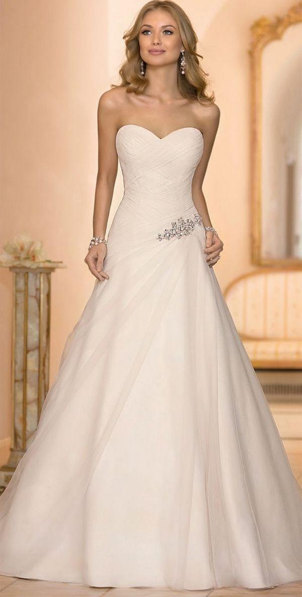 63 best Vestido de Noiva images on Pinterest | Types of dresses ...